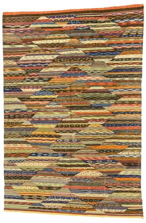 Colorful Abstract Rug 1292