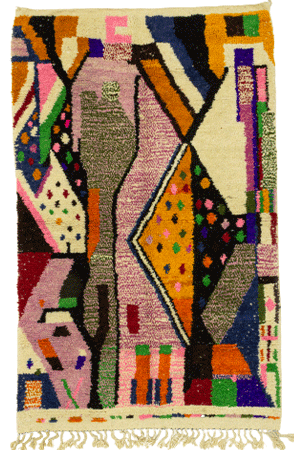 Contemporary Abstract Rug 1223