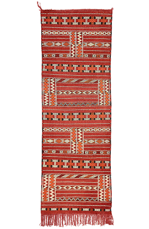 The Amazigh Red Rug 1095