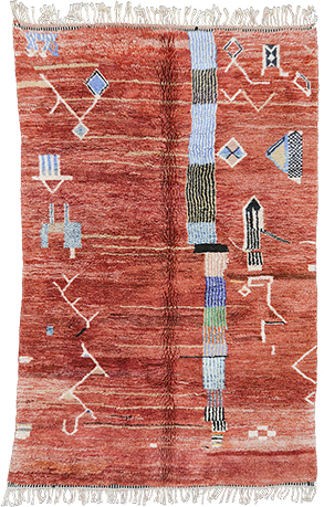 Contemporary Abstract Rug 1033